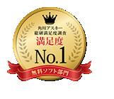 ウイルス対策ソフト満足度調査2013総合満足度第1位